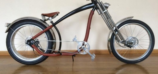 "Custom Chopper-Bike ""Indiana Jones"""