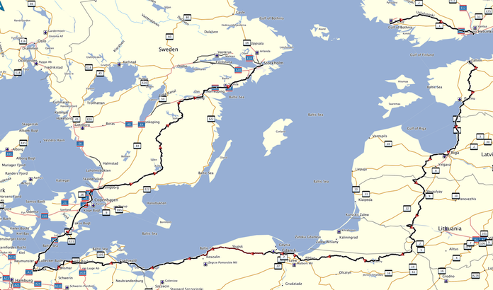 The Great Baltic Sea Ride 2014